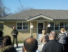 The grand opening and ribbon cutting of Capitol City Duplexes was celebrated on November 19 in Des Moines.