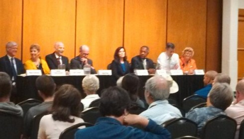 Candidates weigh in on affordable housing at Mayoral forum.