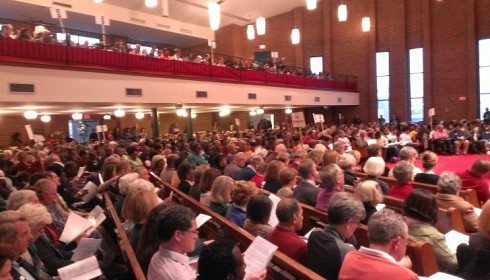 RISC's Nehemiah assembly in April 2014 brought more than a thousand members together to explore key issues.