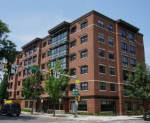 Tompkins County Housing Fund invested in Breckenridge Place, bringing fifty mixed-income affordable apartments to downtown Ithaca.