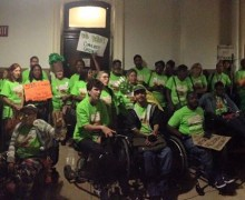Philadelphia Coalition for Affordable Communities rally at City Hall to increase the Philadelphia Housing Trust Fund