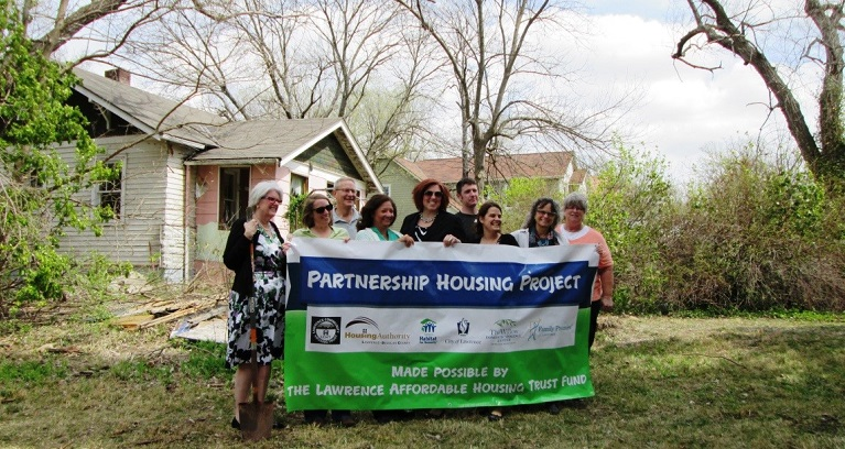 Lawrence Housing Trust Fund Supports Demonstration Project