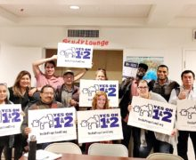 Southern California Association of NonProfit Housing and Venice Community Housing residents and staff say Yes on Prop 1 & Prop 2.
