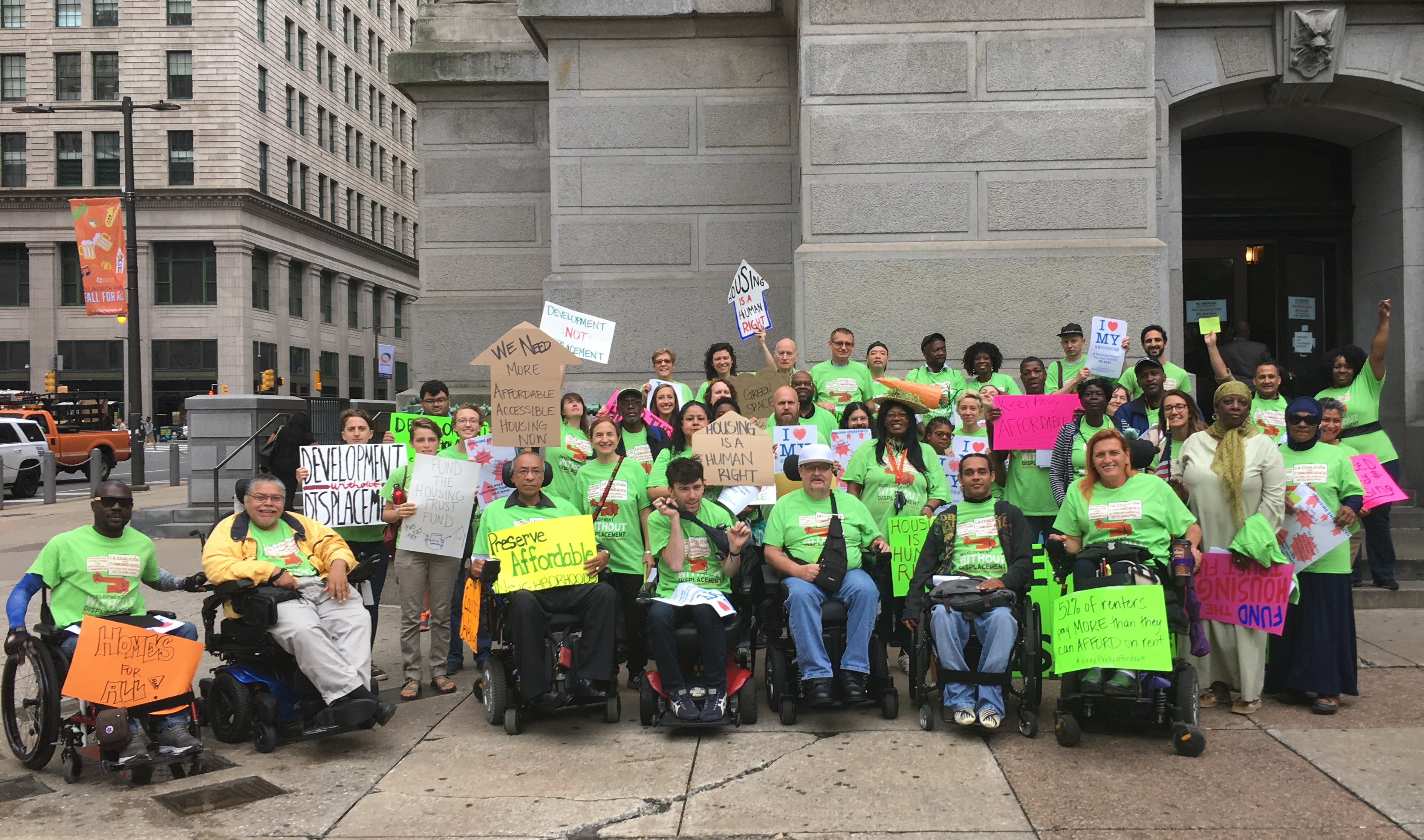 Sustained Organizing, Advocacy Secures $70 million for Philadelphia Housing Trust Fund