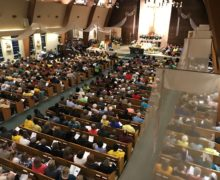 More than 1200 Topeka JUMP members fill the Most Pure Heart of Mary for the 2019 Nehemiah Action Assembly