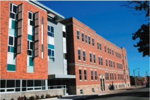 Mercy Housing Lakefront's Johnston Center Residences provide 91 units of supportive housing for individuals who are homeless and disabled or at high risk of homelessness.