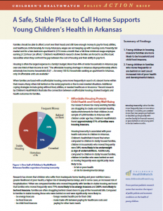 To read more about Housing Arkansas' collaboration with Children's HealthWatch, click here.