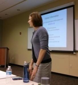 LIHCA leader Ashley Kerr leads messaging training