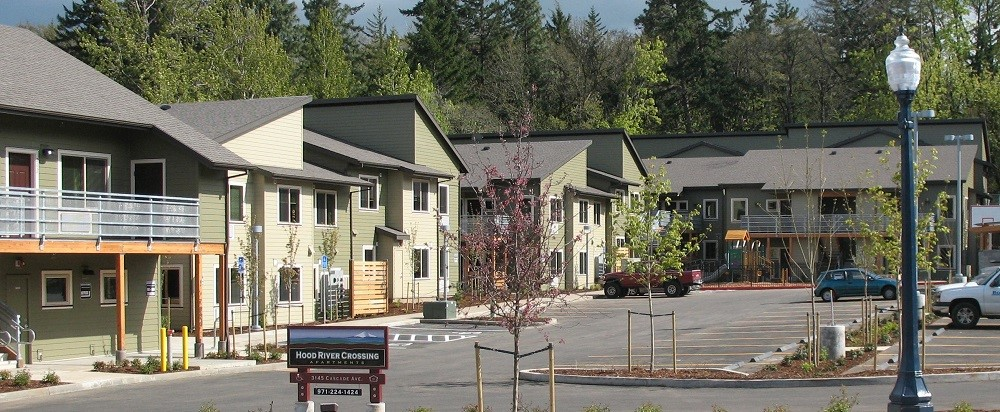 Funds from CET will allow Hood River to create more affordable homes and apartments such as Hood River Commons.