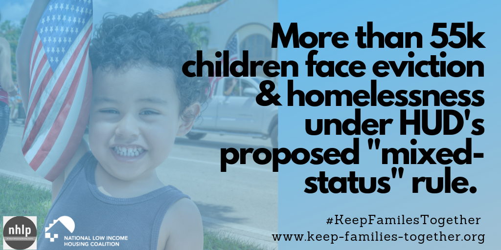 Take Action: Submit Comments to Oppose HUD's Mixed-Status Immigrant Family Rule